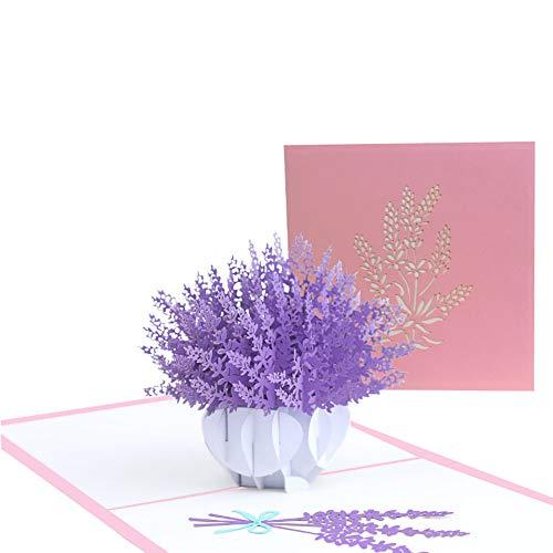 ZCECCO pop up Karte Geburtstag pop up Karte Geschenke für Töchter von Müttern Geburtstagskarten für Mama Pop-up-Geburtstagskarten 1pc