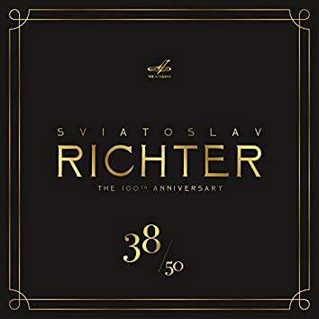 Святослав Рихтер 100, Том 38 (Live)