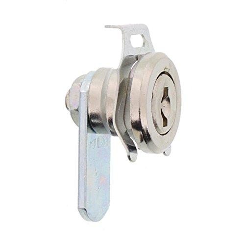 BURG-WÄCHTER Universalzylinder, Hebelschloss, Für Materialstärke von  1 bis 2 mm, vernickelt,  ZS 81 - 2