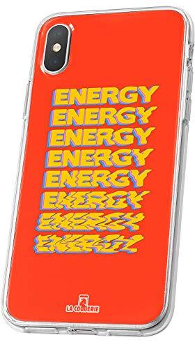 LA COQUERIE - Cover effetto pietra naturale per Wiko Wim Lite, in silicone semirigido, motivo originale Custodia protettiva per telefono