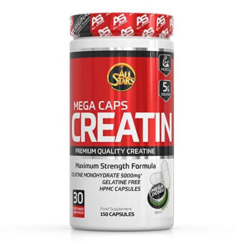 All Stars Creatin Mega Caps - Kapseln á 1183 mg, 150 Kapseln, 177 g