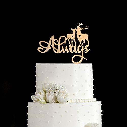 Always Cake Topper Cervo Cake Topper Harry Potter Cake Topper Harry Potter Wedding Cake Topper Harry Potter Cake Topper Harry Potter