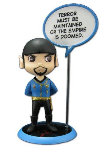 Star Trek Trekkies Q-Pop Figur Mirror Spock SDCC Exclusive 11 cm