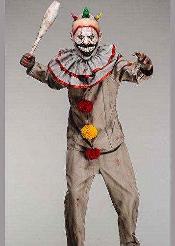 American Horror Story Twisty Das Clown Kostüm mit Deluxe Maske Std. (39-41