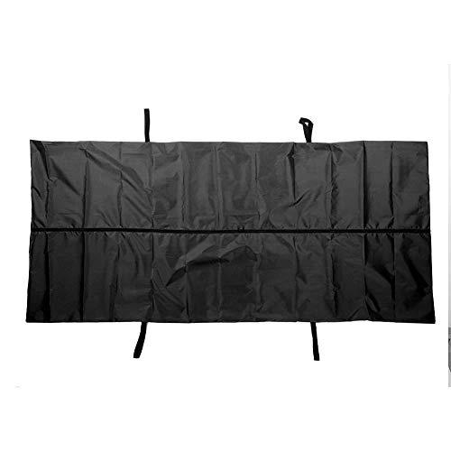 Cadaver Bag, Cadaver Bag Leakage-Proof 210D Waterproof Windproof Body Storage Bag Corpse Bag Funeral Supplies For Home Hospital(Black)