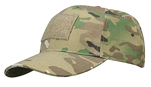 Propper 50-Percent Nylon/50-Percent Cotton 6-Panel Cap with Loop, One Size, Multicam