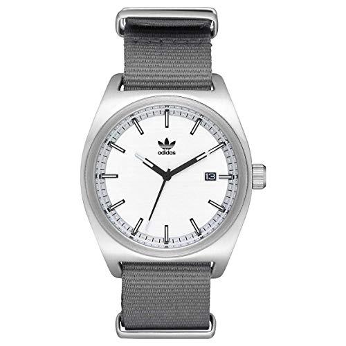 Adidas Herren Analog Quarz Smart Watch Armbanduhr mit Nylon Armband Z09-2957-00