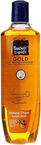 Parachute Gold Hair Oil Natural Shine - 6.8 fl.oz. (200ml) - Coconut & Almond Hair Care Oil