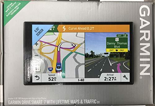 Garmin Drivesmart 7 w/Lifetime Maps and Traffic EX