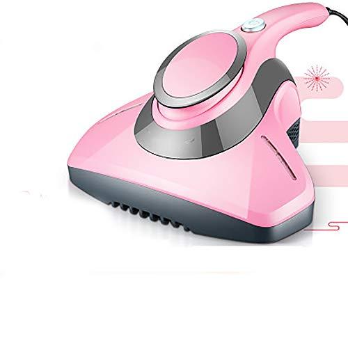 AIMMMY UV-Staubsauger, Hand Corded Staubsauger Mit UV-Licht Und Heißluft-Entfeuchtung Für Bettwäsche Bettwäsche Kissen Gardinen Sofas Und Teppiche,Rosa