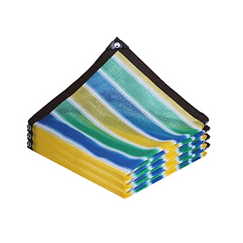 AWSAD Lonas para Sombra, Engrosamiento De Cifrado Red De Sombra, Aislamiento Térmico Tela Sombra, para Invernadero De Jardín De Balcón, 15 Tamaños (Color : A, Size : 5x5m)