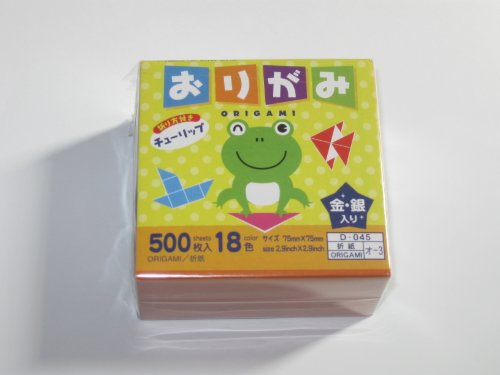 Daniels House Japanese Origami Folding Paper, 3 inch square, 500 sheets
