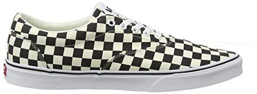 Vans Doheny, Zapatillas para Hombre, Multicolor ((Checkerboard) Black/Classic White Ib8), 42 EU
