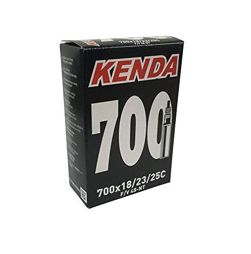 Kenda Standard - Cámara de aire para bicicleta, gris, talla 700 x 18/23/25C