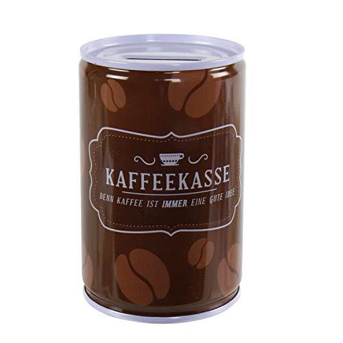 Roomando Spardose Kaffeekasse Metall