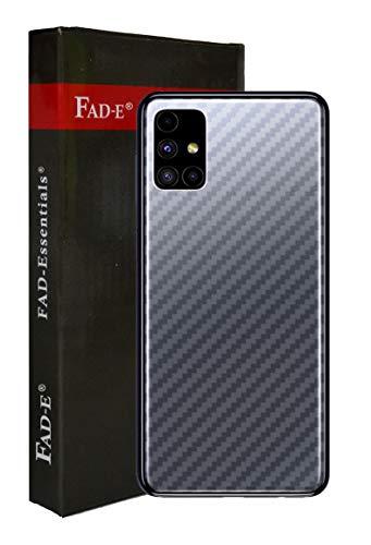 FAD-E Back Screen Guard Protector Soft Film for Samsung Galaxy M51 (Transparent Carbon Fiber)