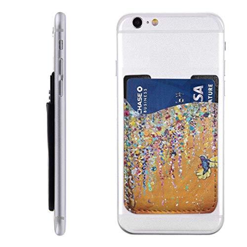 Interieur shop Mobile Card Wallet Wallet Wallet, Pocket ID Credit card SleeveHummingbird Tapisserie