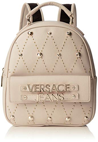 VERSACE JEANS COUTURE - Bag, Mujer, Beige (Legno), 10.5x26x21 cm (W x H L) (Zapatos)