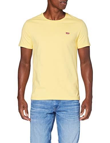Levi's Herren SS Original HM Tee T-Shirt, Gelb (Dusky Citron), Large