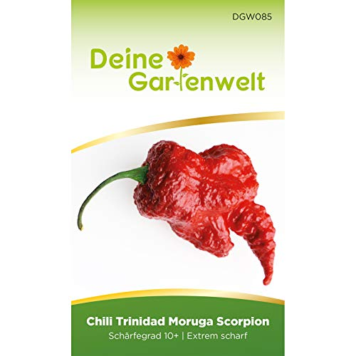 Chili Trinidad Moruga Scorpion | Chilisamen | Samen für scharfe Chilis | Saatgut