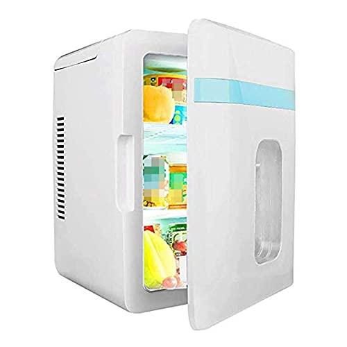 BAOZUPO Del refrigerador del refrigerador bueno mini, refrigerador termoeléctrico portátil y calentador   Refrigerador de viaje de 12 litros - 6 latas compacto, potente sistema de refrigeración, portá