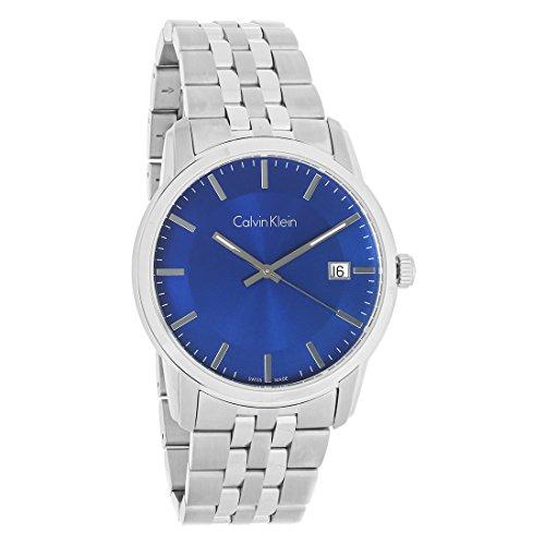 Calvin Klein Infinite Cuarzo Movimiento Azul Dial Relojes de los Hombres K5S3114N