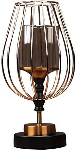 Soporte de Vela de Vela de Metal Decoración para el hogar Pilar Vela Soporte, Mesa de Centro Living o Comedor Mesa candelabundo Decorativo