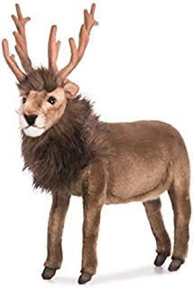 HANSA Reindeer Plush, Brown