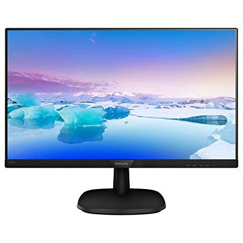 Philips 223V7QHSB/00 - Monitor IPS de 21.5' (Full HD, 1920x1080, Sin bordes, Flicker Free, Low Blue Mode, VESA, VGA + HDMI)