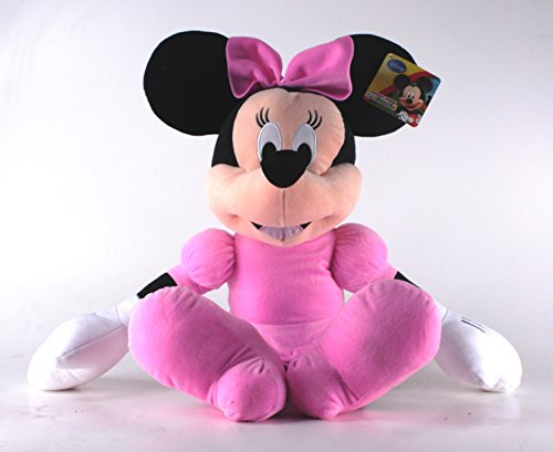 PELUCHE GIGANTE 80 CM MINNIE - MICKEY MOUSE CLUBHOUSE DISNEY