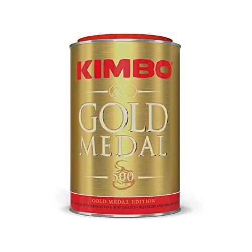 Kimbo kit di caffè macinato - (3 lattine da 500g) - Edizione Medaglia d'Oro