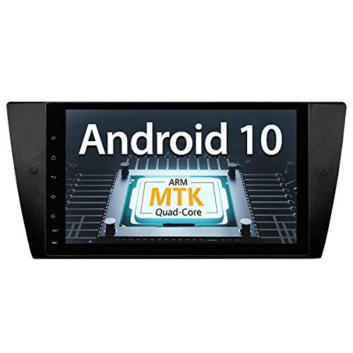 eonon GA9465B Android 10 Car Stereo compitable with E90 E91 E92 E93 (2005~2011) 9' IPS Touchscreen GPS Navigation Nav Sat ARM A7 Quad-Core 2GB RAM 32GB ROM Headunit Bluetooth Built-in DSP (NO DVD)