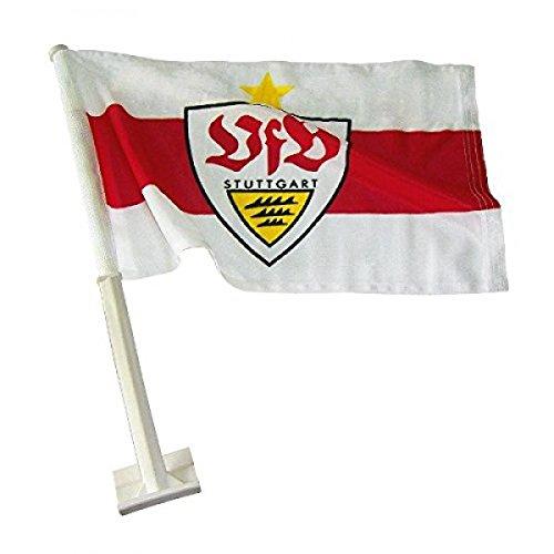 VfB Stuttgart Autofahne 'Stern'