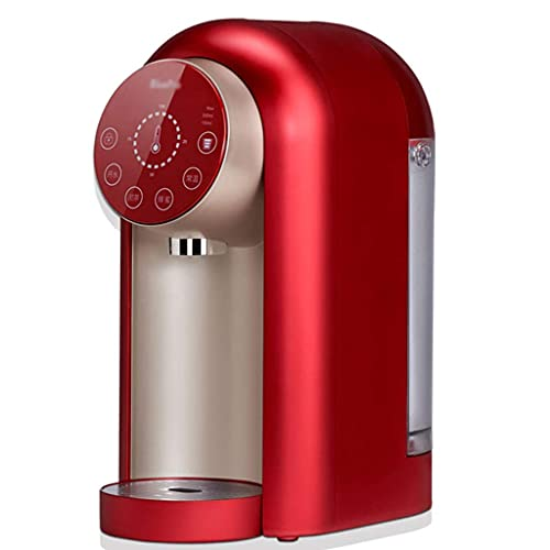 KTDT Distributeur d'eau chaude, Mini distributeur d'eau, Avec température et Volume d'eau réglables, Conception silencieuse - Faire bouillir l'eau en seulement 3 secondes