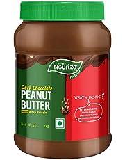 Nouriza Dark Chocolate Peanut Butter Spread with added Whey