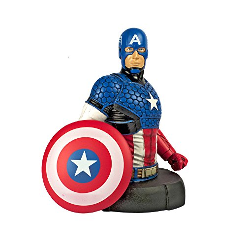 Sherwood Media - Busto Super Heroes Marvel de Capitán Amé