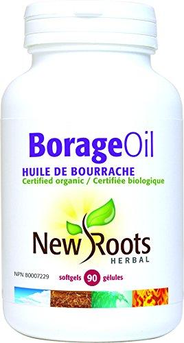 New Roots Borage Oil, 90 Softgels