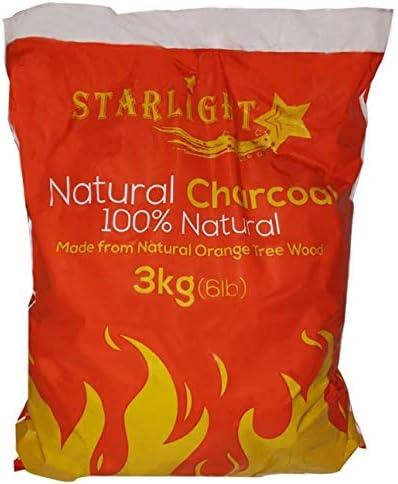 Starlight Natural Charcoal 6.6 lb 100/% Natural 3