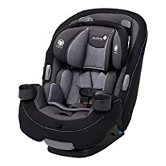 Built to grow: The 3 in 1 car seat built to grow for extended use through 3 stages: Rear facing 5 40 pounds, forward facing 22 to 65 pounds, and belt positioning booster 40 to 100 pounds Side impact protection: The grow and go's side impact protectio...
