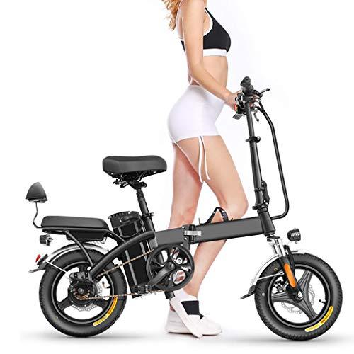 TB-Scooter Patinetes eléctricos Adulto, Ajustable la Altura, 14