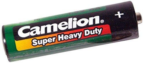 Camelion - Confezione da 8 batterie AA LR06, ottima durata, verde