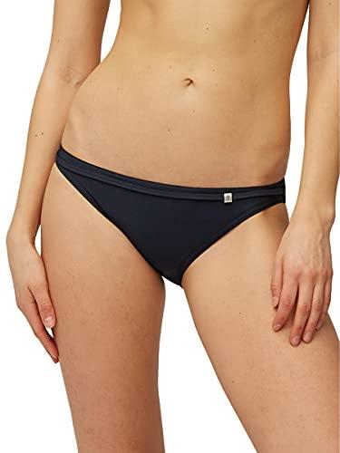 Marc O'Polo Damen Bikinislip - 146426, Farbe:Blauschwarz, Größe Damen:38