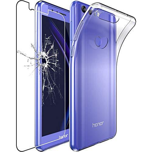 ebestStar - Funda Compatible con Huawei Honor 8 Carcasa Silicona, Protección Claro...