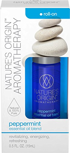 Nature's Origin™ Aromatherapy Peppermint Essential Oil Blend Roll-On, 15 ml