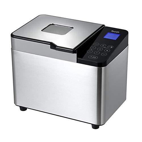 Dytxe-shelf Automatische broodbakmachine voor ontbijt, huishouden, multifunctioneel, met uitgestelde startfunctie en 22 intelligente programma's, voor brood