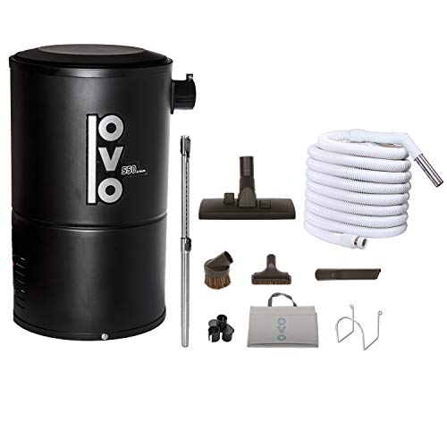 OVO Compact and Powerful Central Vacuum System, 550AW, Use...