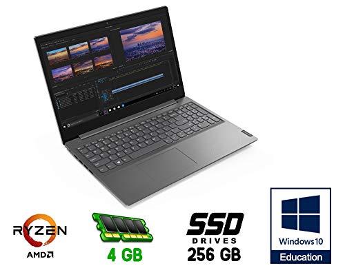 Lenovo 15.6' Full HD Anti-glare/Cpu Amd Ryzen 3 R3-3250U Up to 3.5GHz /Vga INTEL FHD 620 SSD M2 Nvme 256G /Ram 8Gb DDR4 /web cam /3 usb hdmi Wi-fi bluetooth/Windows 10 Pro Edu