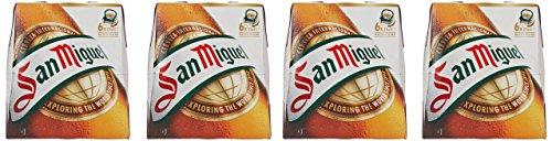 San Miguel Cerveza - Paquete de 24 x 250 ml - Total: 6000 ml