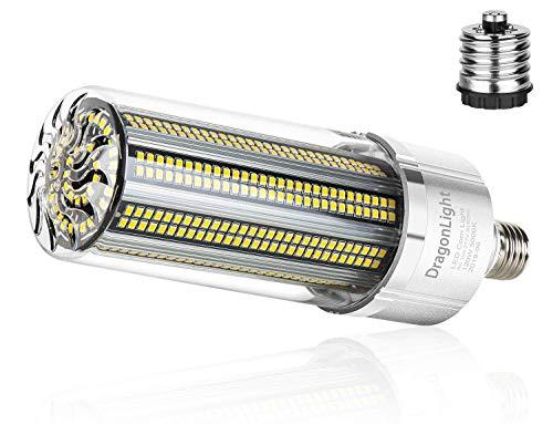 120W Superhelle Mais Licht LED Glühbirne(Ersetzt 800Watt) - E27 Edison LED Lampe mit E40 Adapter - 5000K Kaltweiß 14400 Lumens für Großes Gebiet Beleuchtung - Garage Lagerhaus Werkstatt Hof