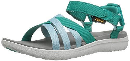 Teva Women's W Sanborn Sandal, Teal, 7 M US